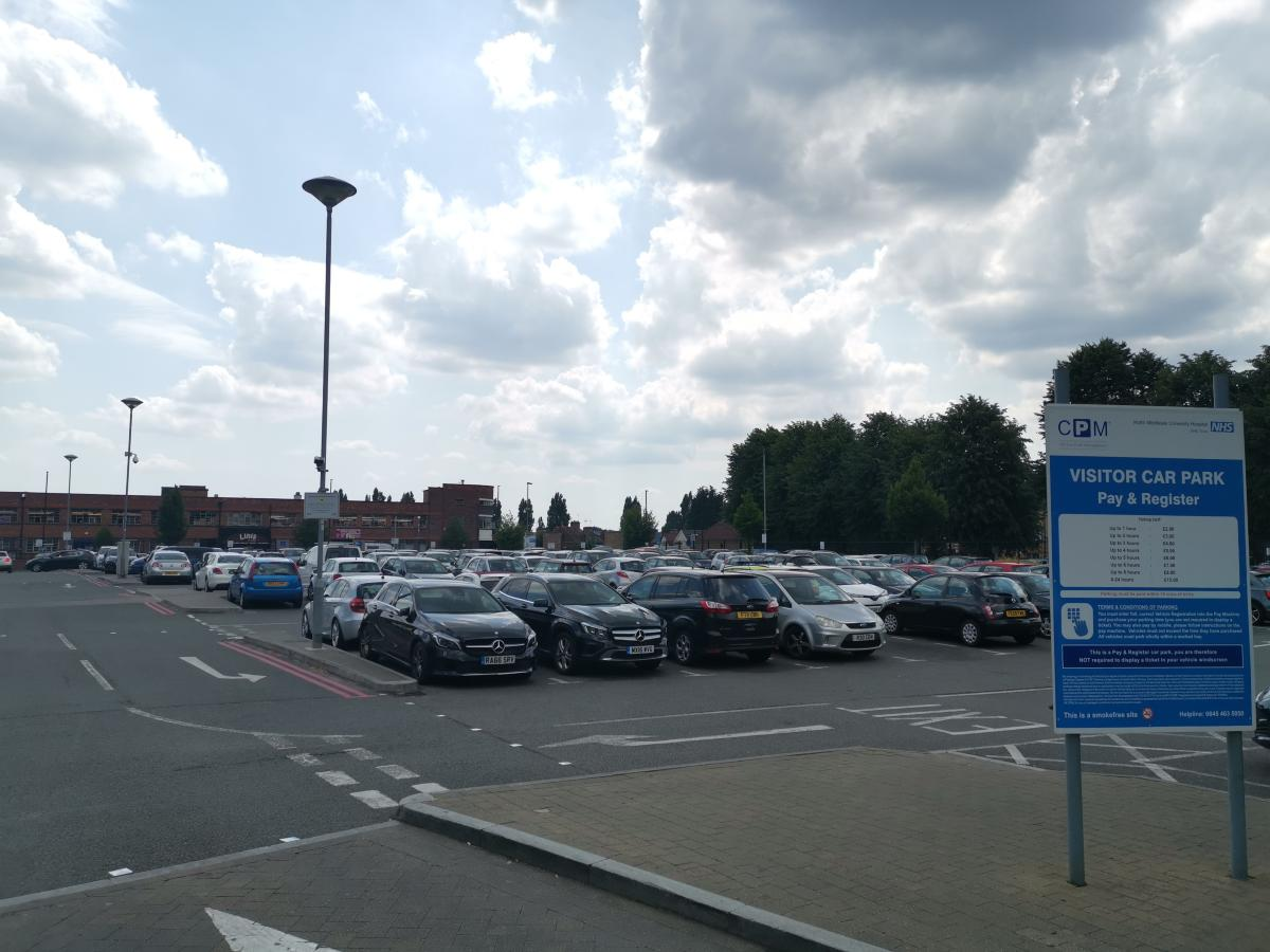 Free staff car parking in the main visitors car park is being removed next week.jpg