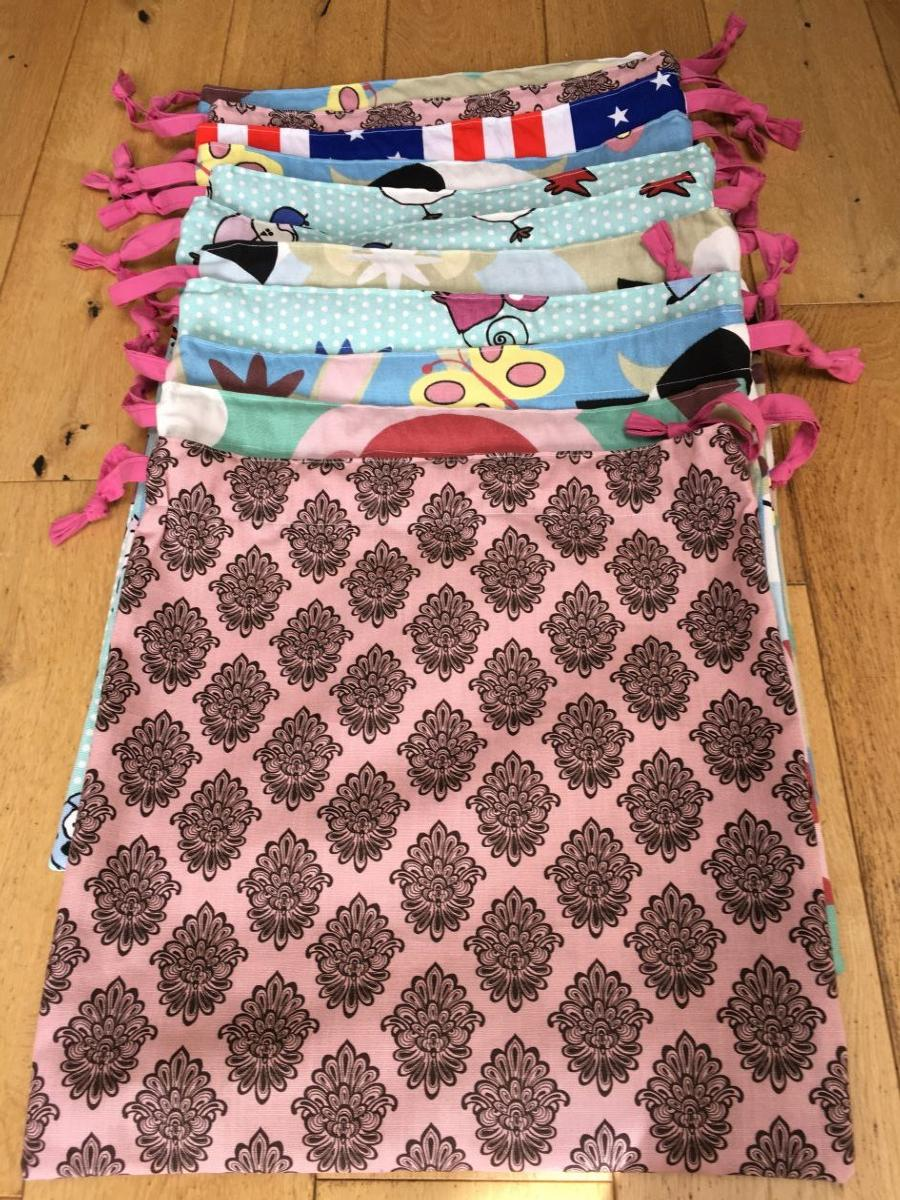 Make and donate uniform wash bags for North Mid staff